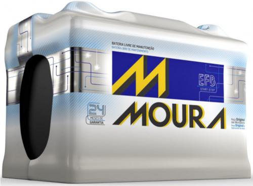 Bateria Start Stop Moura EFB 80Ah MF80CD