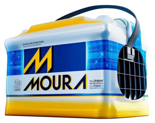 Bateria Moura 60ah Automotiva AD
